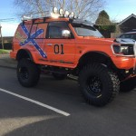 xft UK monster truck pajero