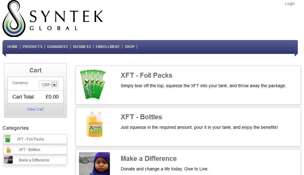 XFT UK Shop