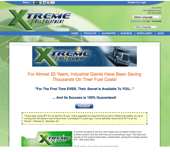xft website Internet marketing