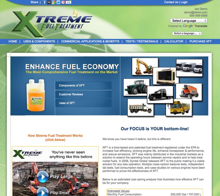 xft website commercial