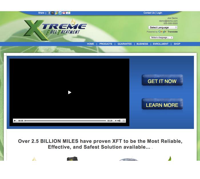 xft website enrollment biz