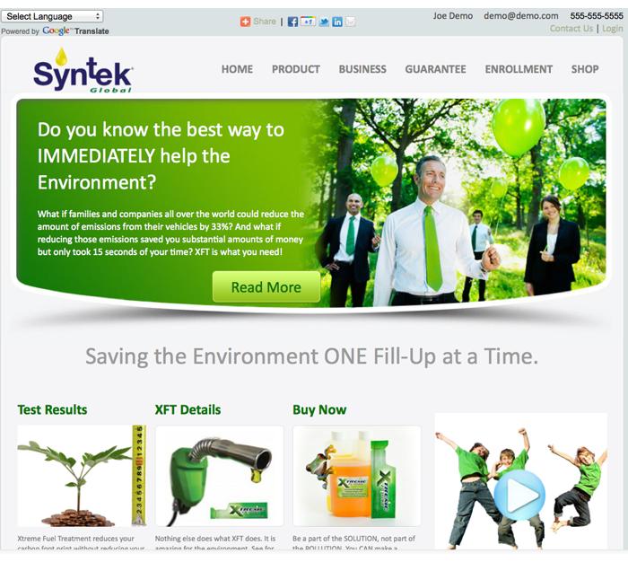 xft website environmental