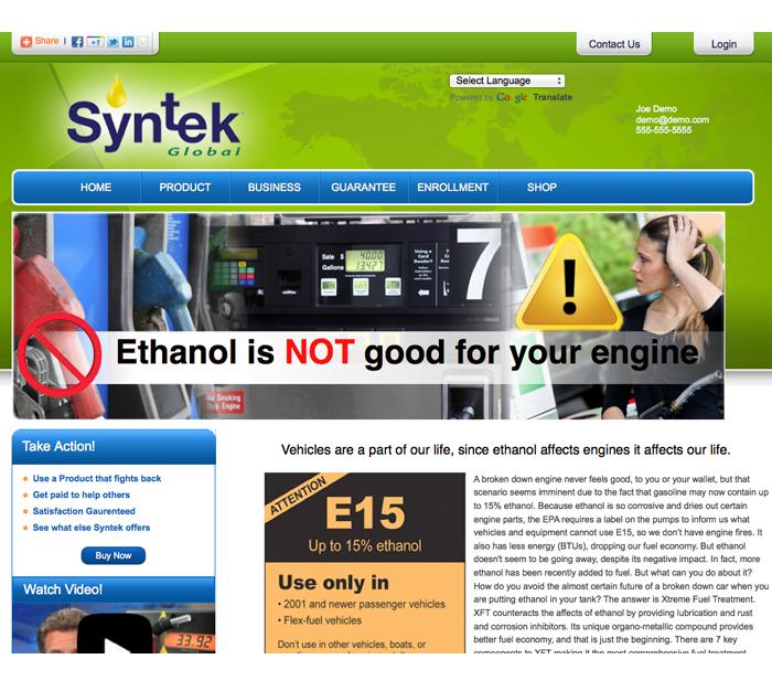 xft website ethanol