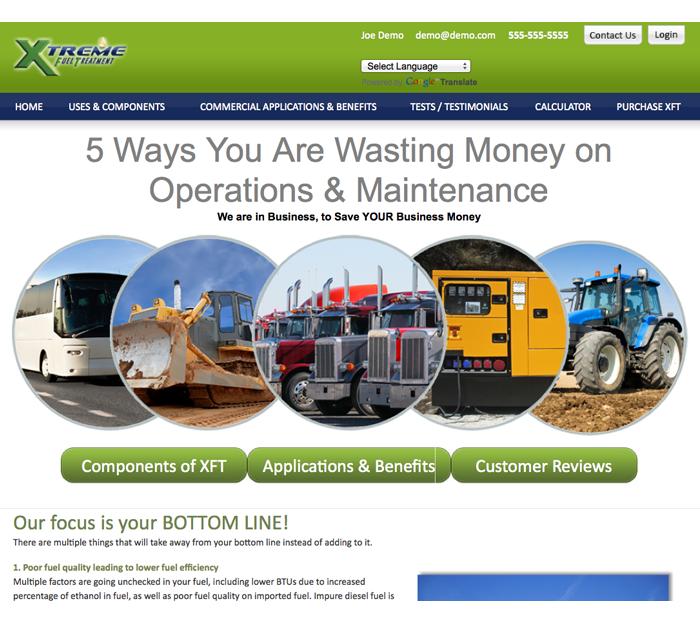 xft website industrial