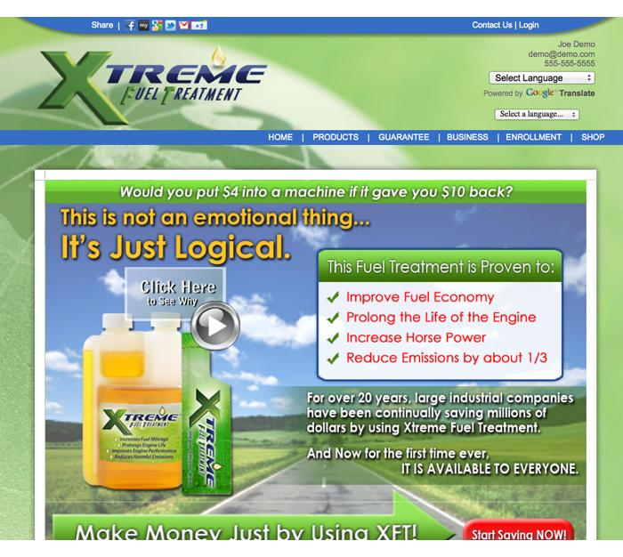 xft website logical