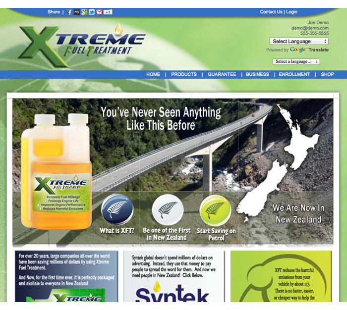 xft website new zealand