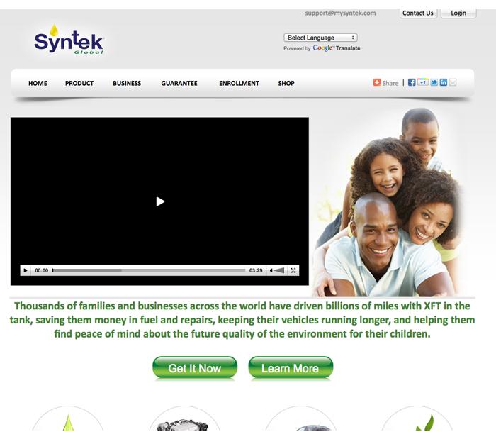 xft website product