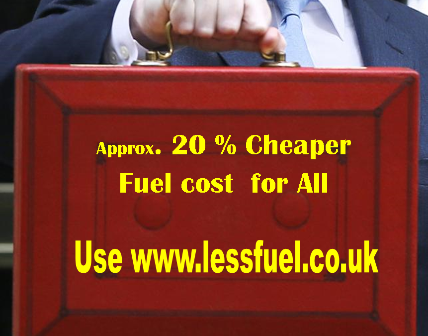 Budget 20% Less for Fuel
